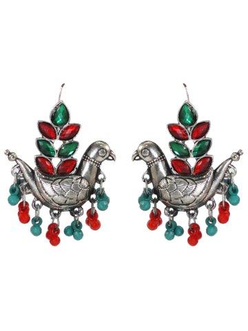 https://static3.cilory.com/396961-thickbox_default/birds-shaped-red-green-handicraft-earrings.jpg