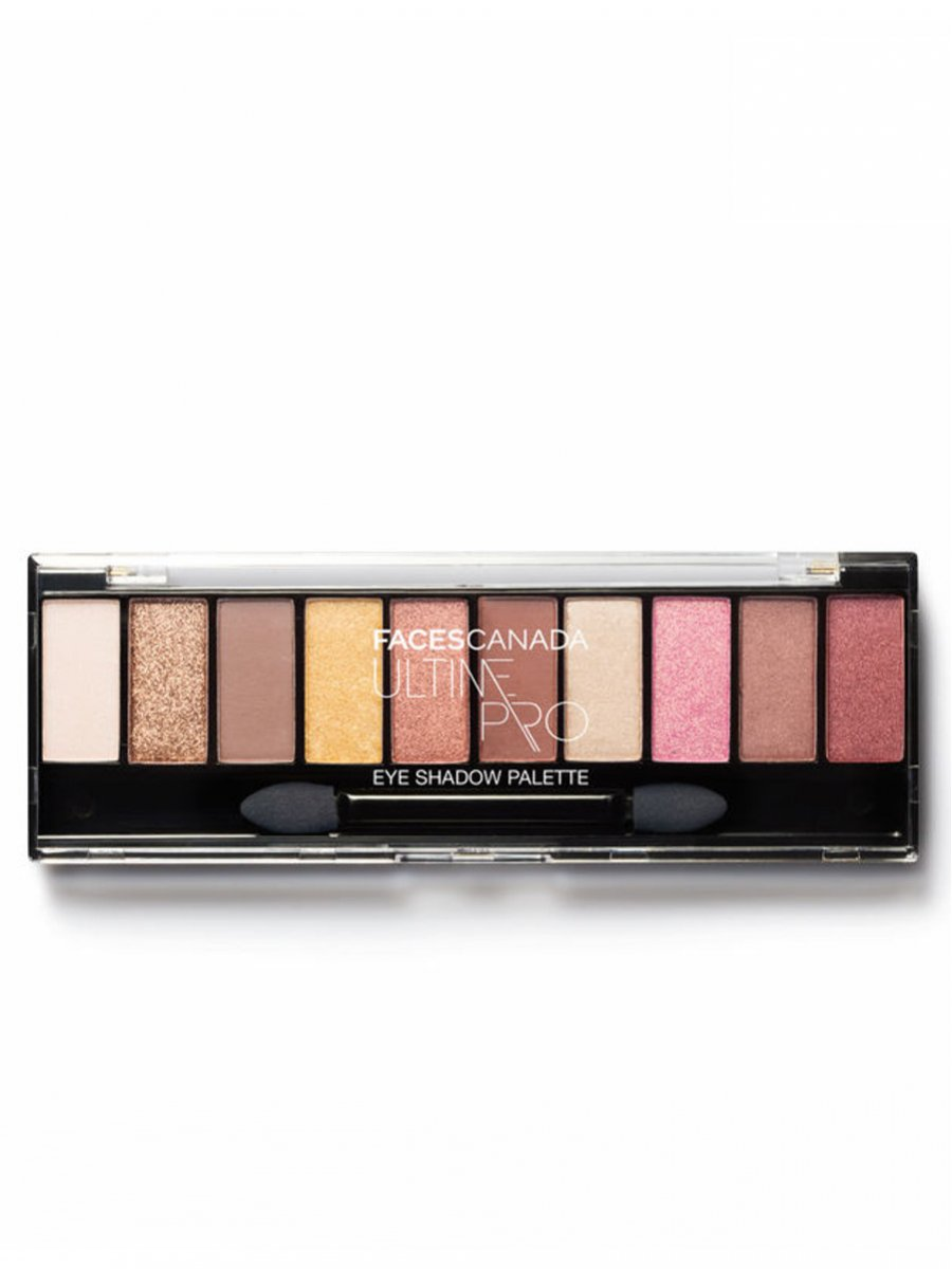 Faces Ultime Pro 10 in 1 Eye Shadow Palette