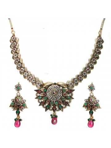 https://static6.cilory.com/41092-thickbox_default/elegant-polki-work-necklace-set-carved-with-stone-and-beads.jpg