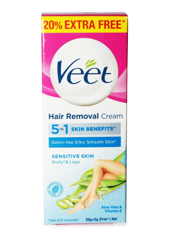 Veet Silk Fresh Sensitive Skin Hair Removal Cream 25 G Veet