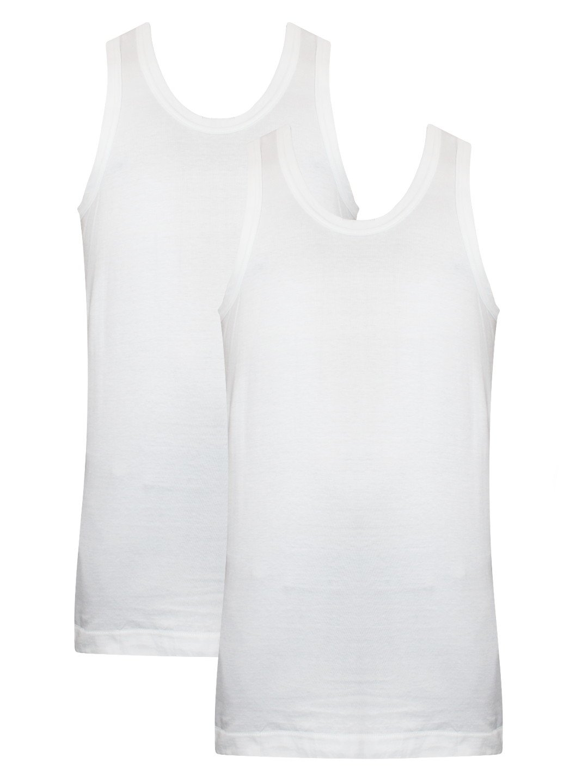 Dixcy Scott UNO White Vest   Pack Of 2