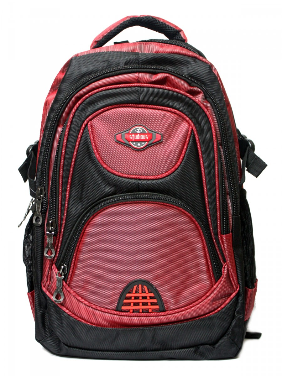 Studious Silent Red Backpack