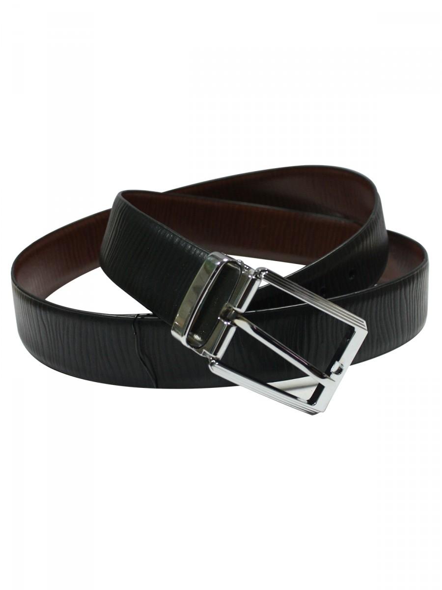 Reversible Black And Brown Formal Belt