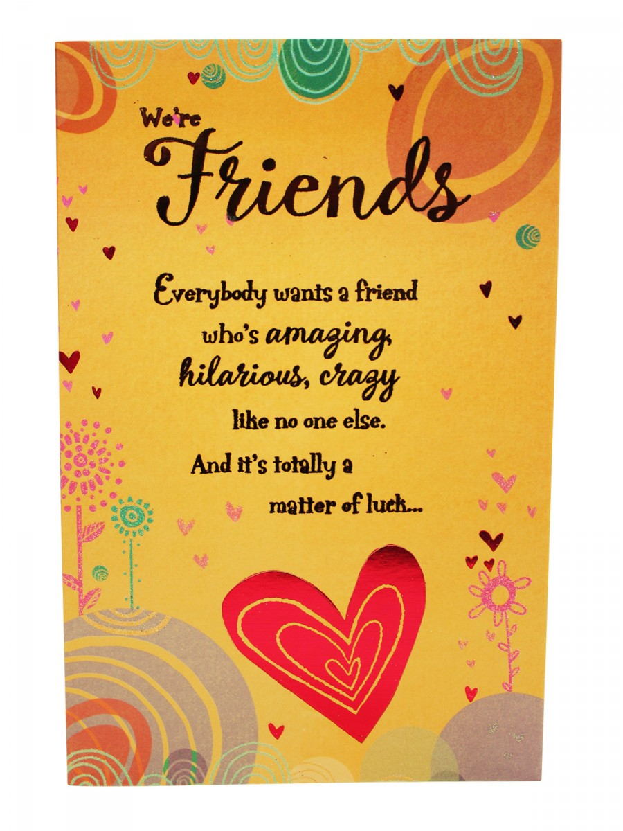 Archies Greeting Card For Friendship Ag J C85 Cilory