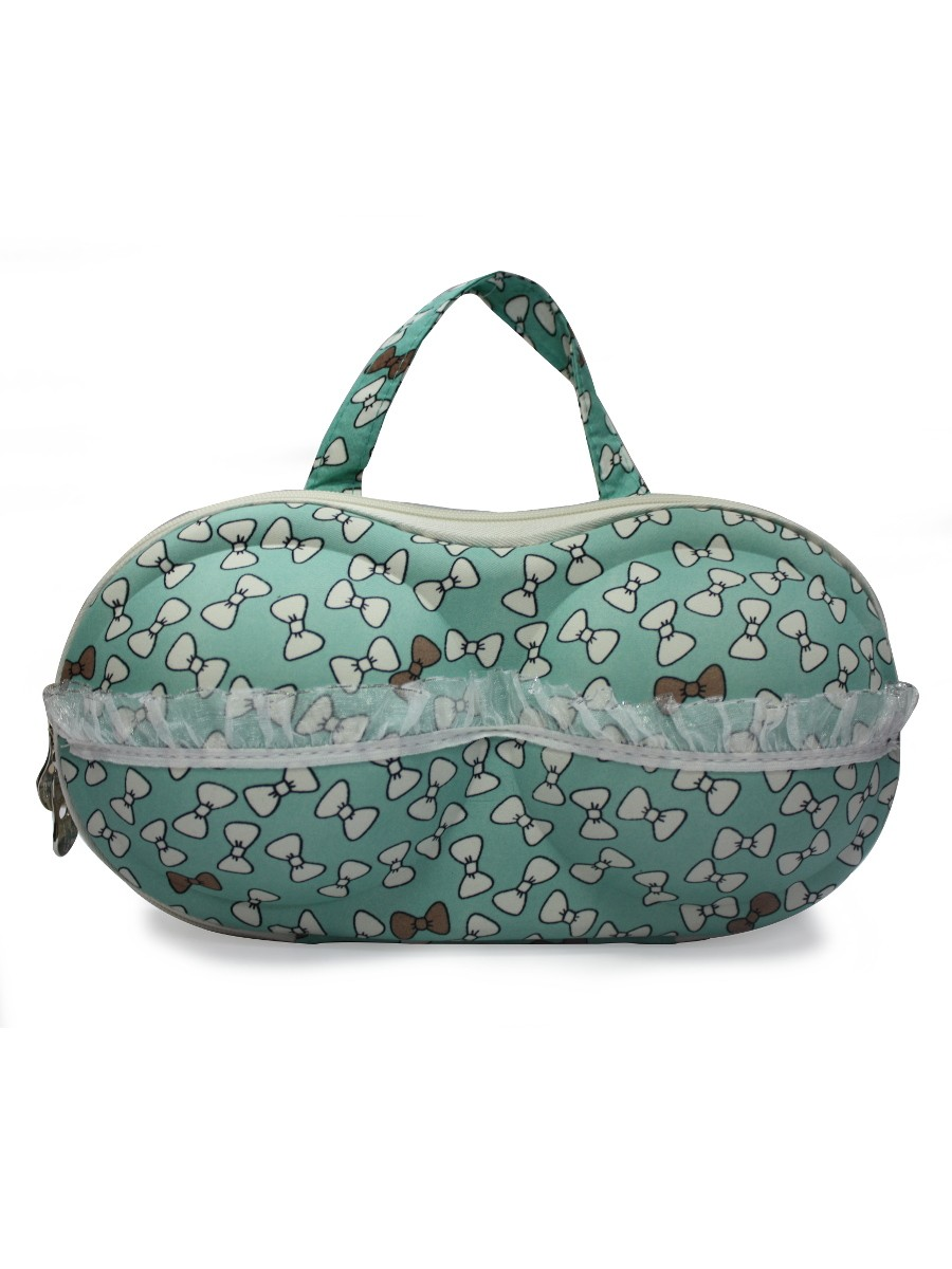 Estonished Green Lingerie Bag
