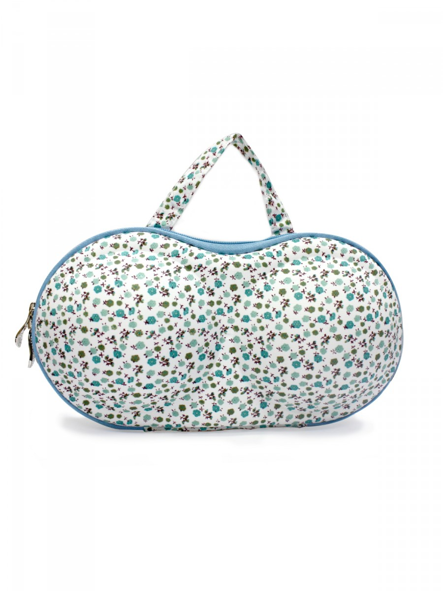 Estonished White Lingerie Bag