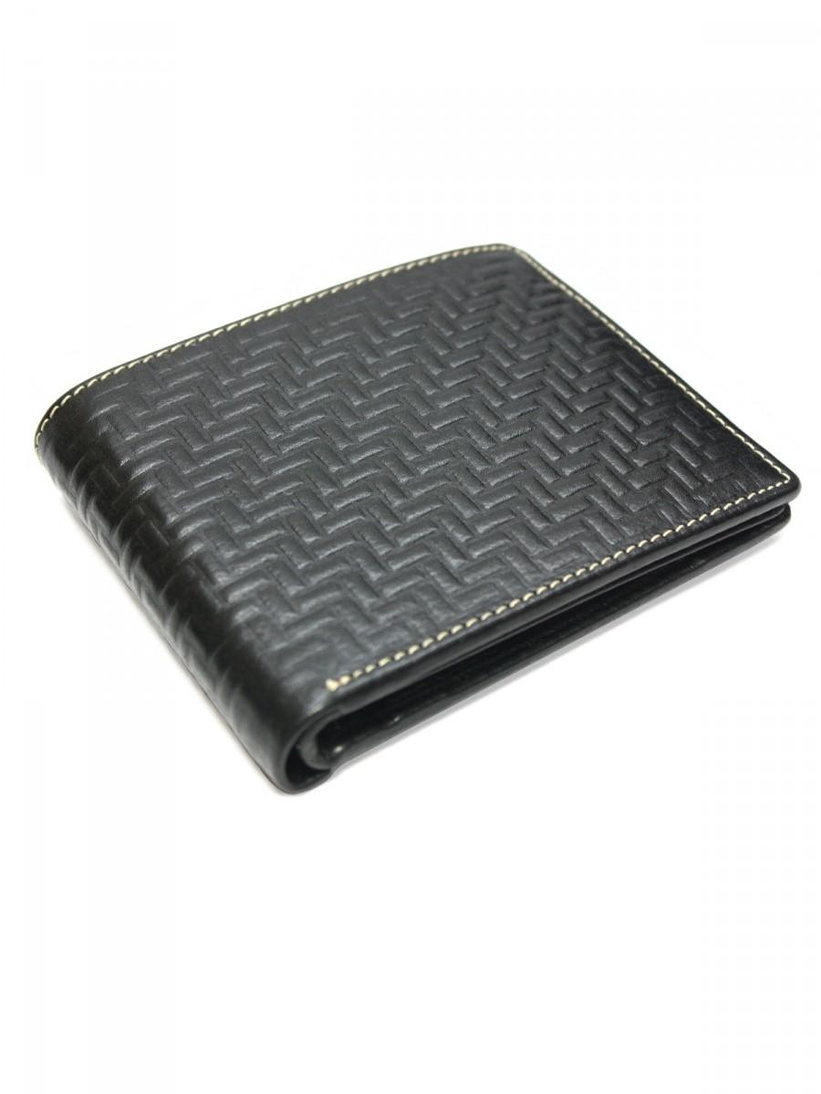 Archies Men Black Leather Wallet