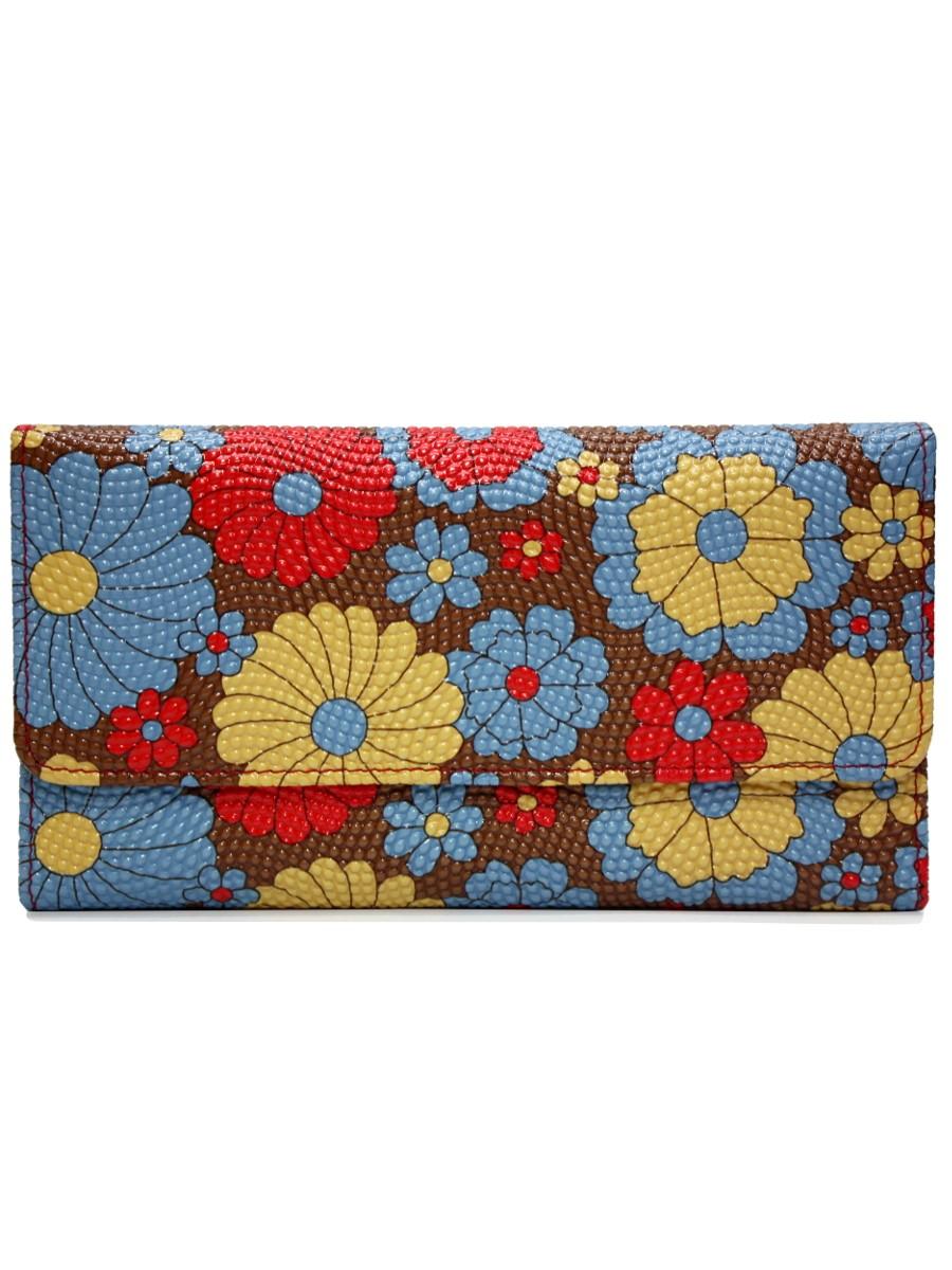 Archies Women Multicolor Leather Wallet
