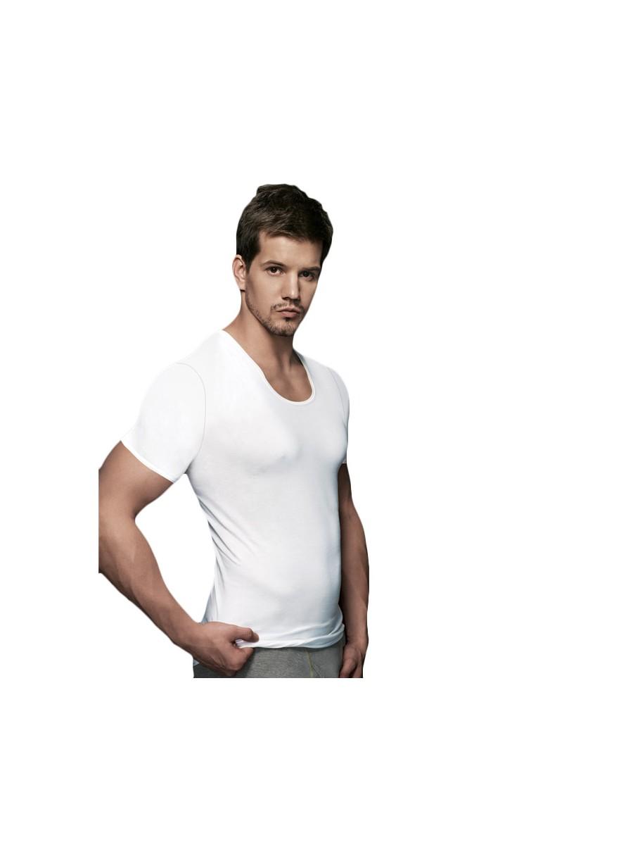 Euro Basic RNS White Men's Vest