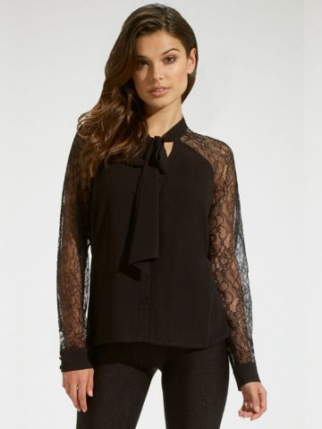 https://static8.cilory.com/98574-thickbox_default/tie-neckline-lace-sleeves-chiffon-top.jpg