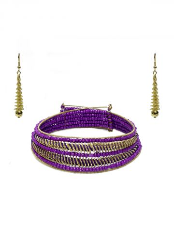 https://static6.cilory.com/98657-thickbox_default/nirvana-series-purple-handicraft-hasli-with-earring.jpg